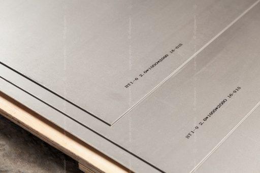титановые листы вт1-0 от компании ТПК Вариант