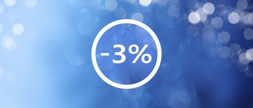 скидка 3% от компании ТПК Вариант