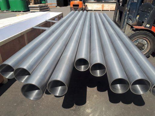 поставка титановых труб от компании ТПК Вариант