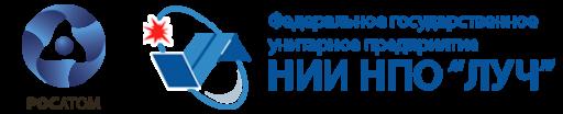"""НИИ НПО """"ЛУЧ"""" лого"""